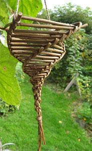 Willow-bird-feeder